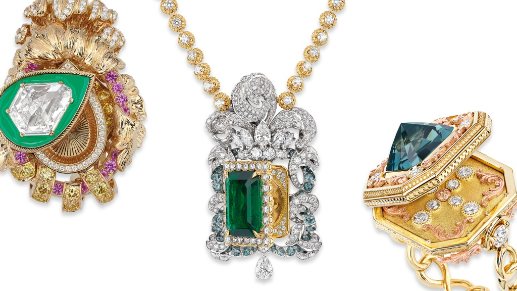 Dior's New Versailles-Inspired Jewelry