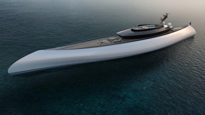 Oceanco Project Tuhura gigayacht canoe