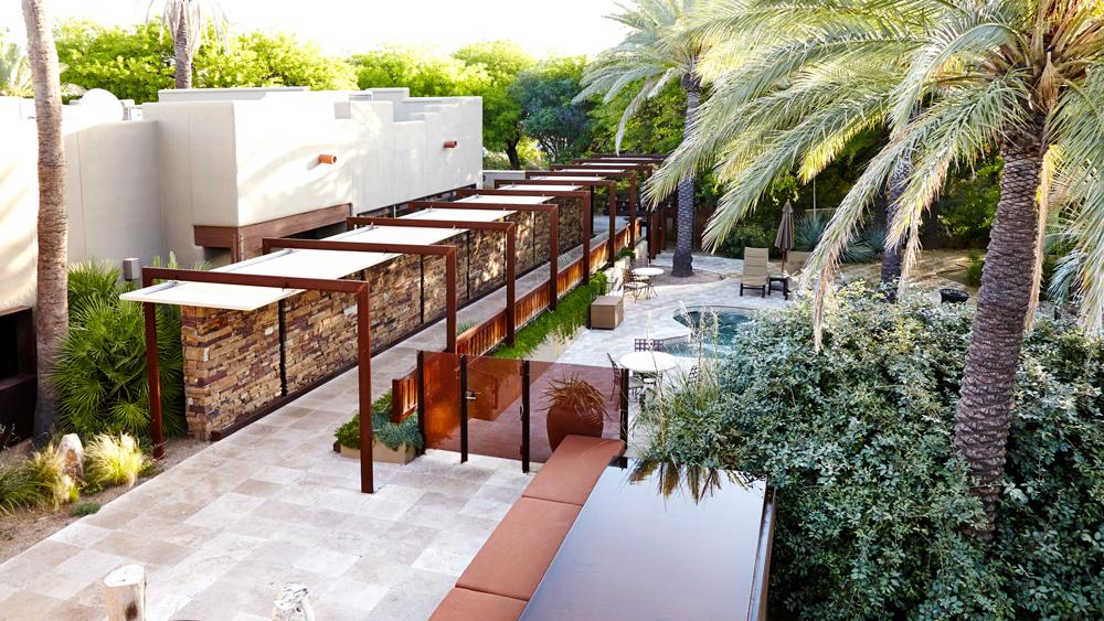 Miraval Spa pool