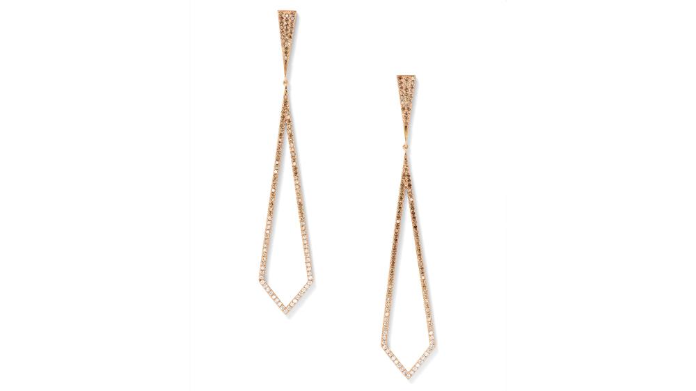 Eva Fehren diamond earrings