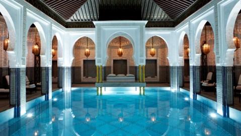 La Mamounia indoor pool