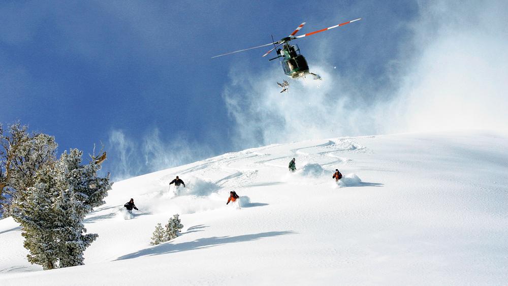 Heli-Skiing Jackson Hole