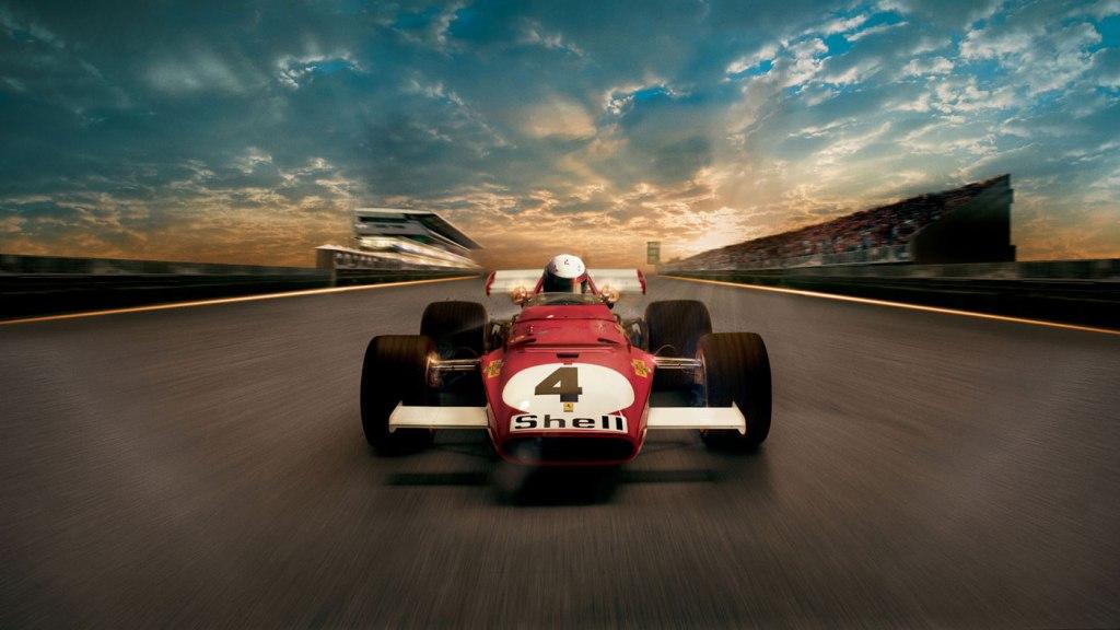 Promotional image for film Ferrari 312B: Where the Revolution Begins.