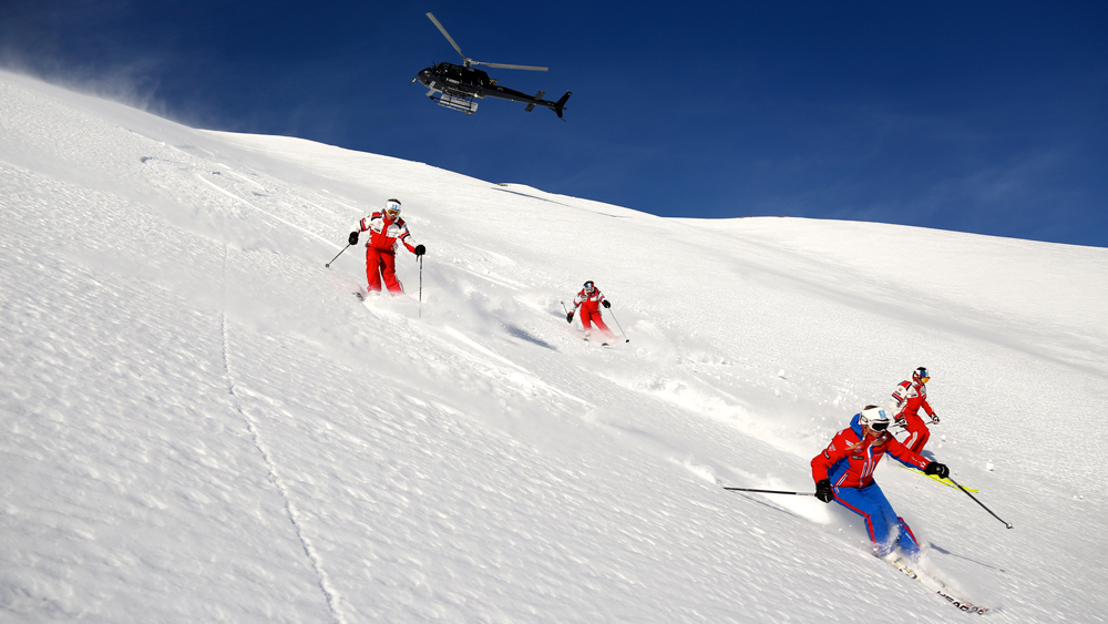 French Alps Heli-ski