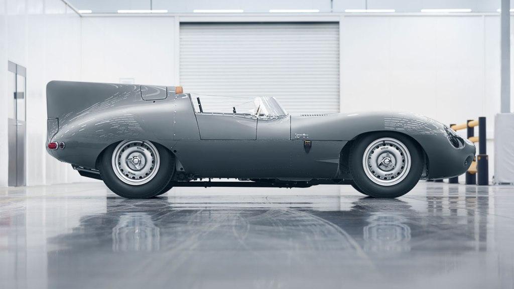 A new version of Jaguar's D-Type.