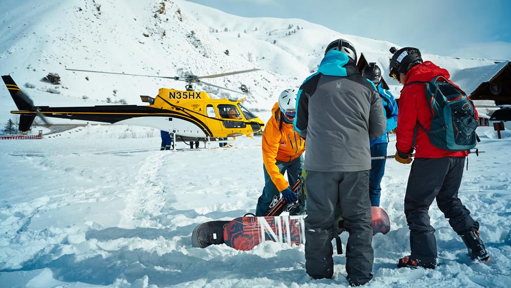 Jackson Hole heli-ski