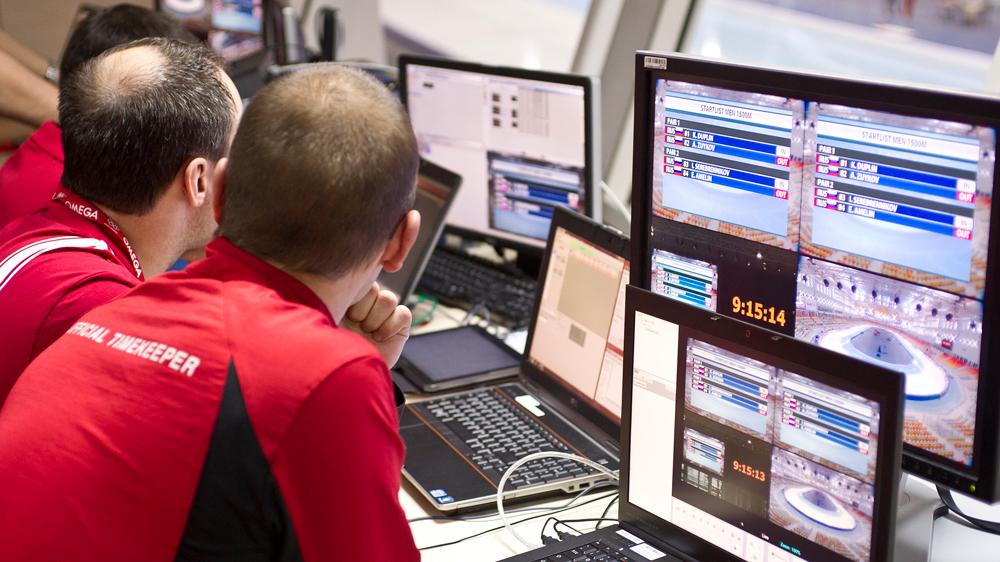 Omega timekeepers Olympics