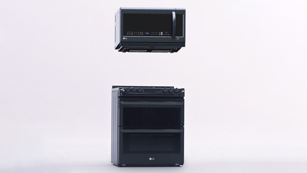 LG ThinQ Microwave and Oven