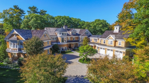 Massachusetts Home with Ice Rink