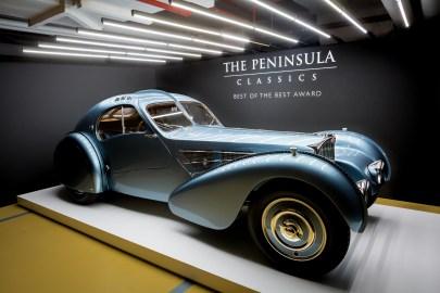 Mullin Automotive Museum's 1936 Bugatti Type 57SC Atlantic.