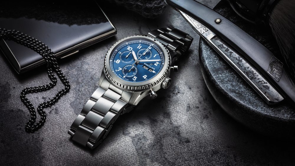 Breitling Navitimer watch