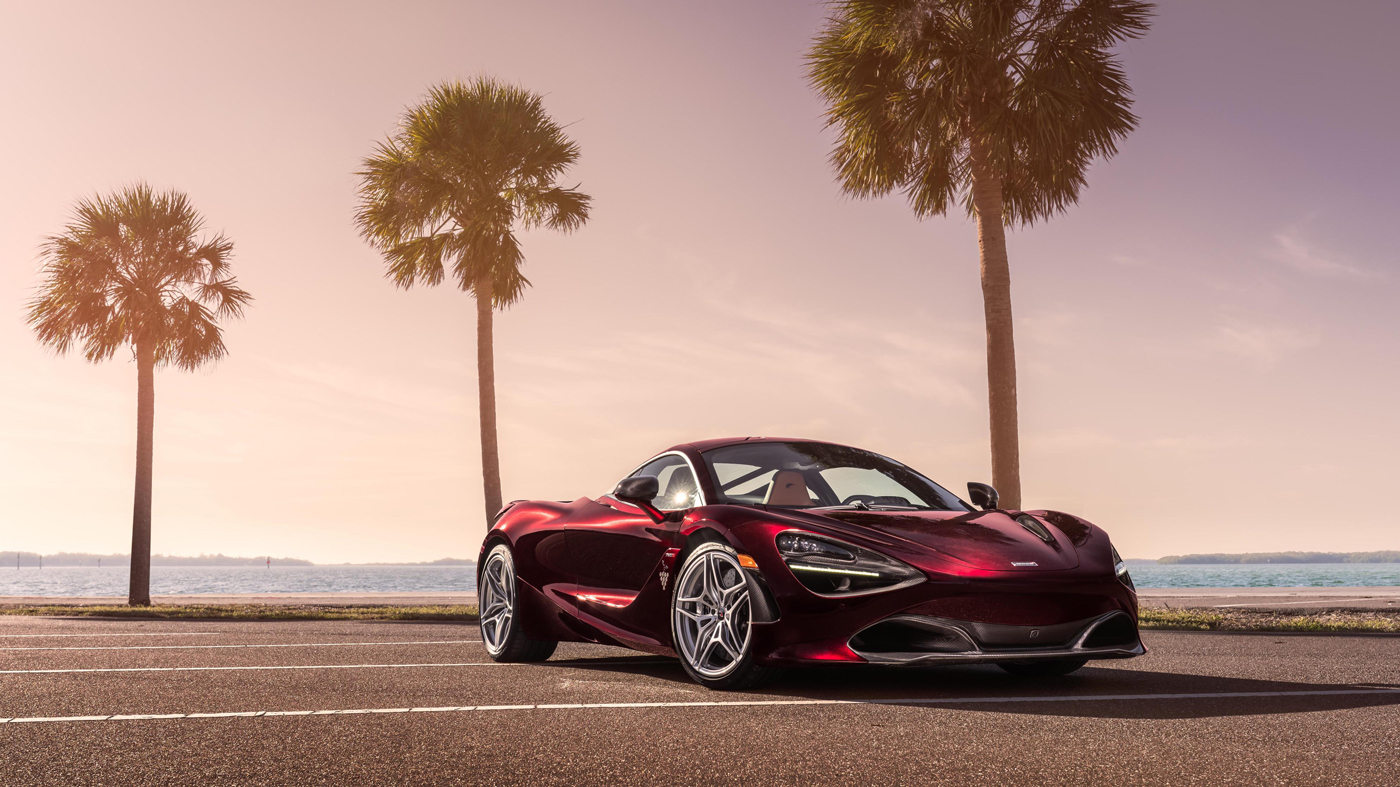 The one-off McLaren 720S that sold for $650,000 at the 2018 Naples Winter Wine Festival.