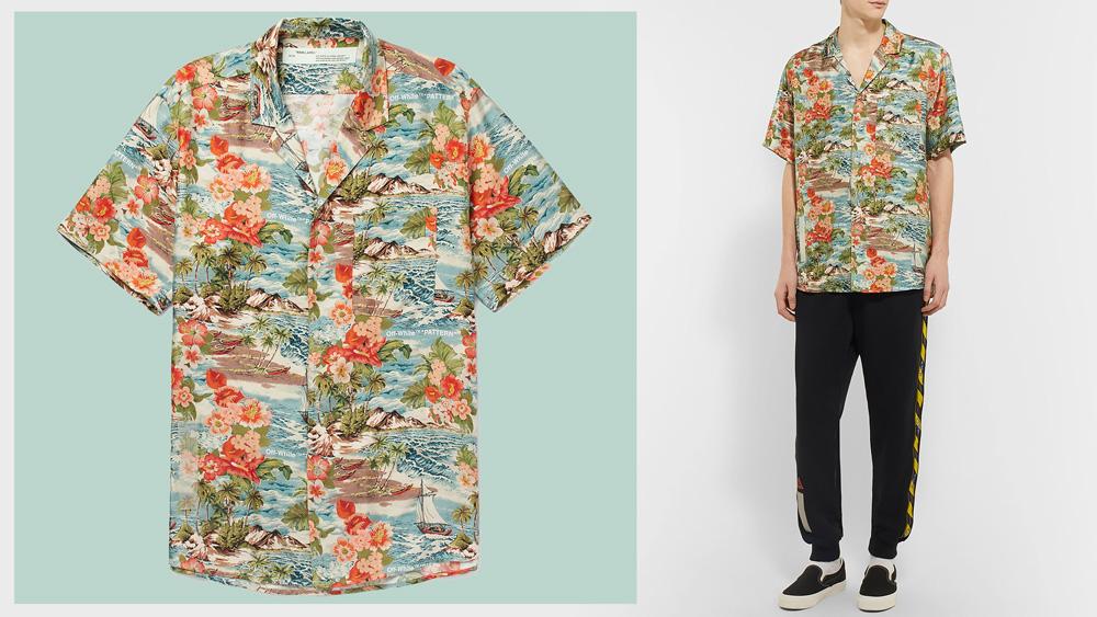 Off-White hawaiian shirt