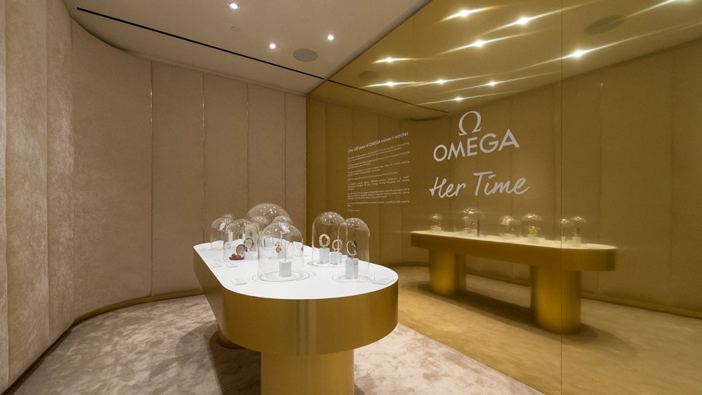 Omega Her Time boutique