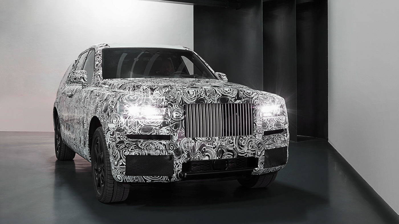 The Rolls-Royce Cullinan.