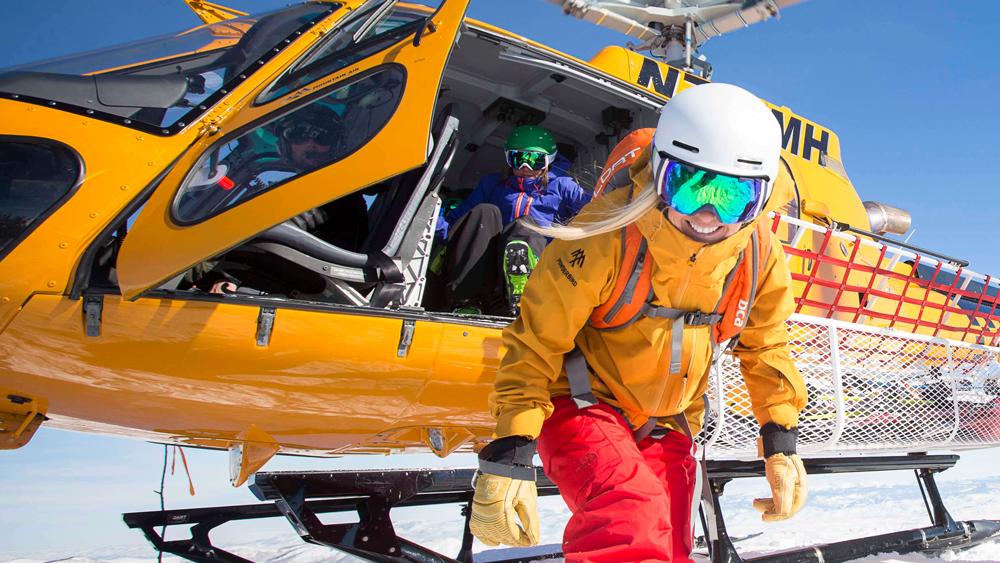 Park City heli-ski