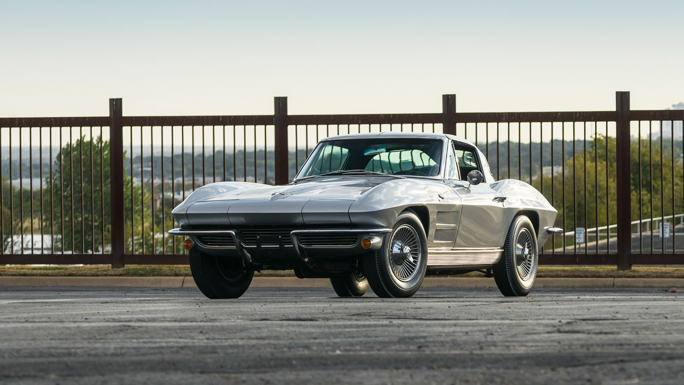 A 1963 Chevrolet Corvette Z06/N03, one of only 63 examples built.