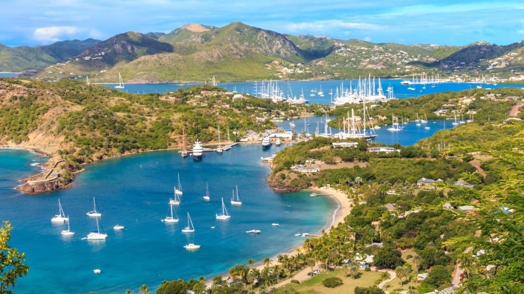 English Harbour and Falmouth Harbour, Antigua Charter Yacht Show