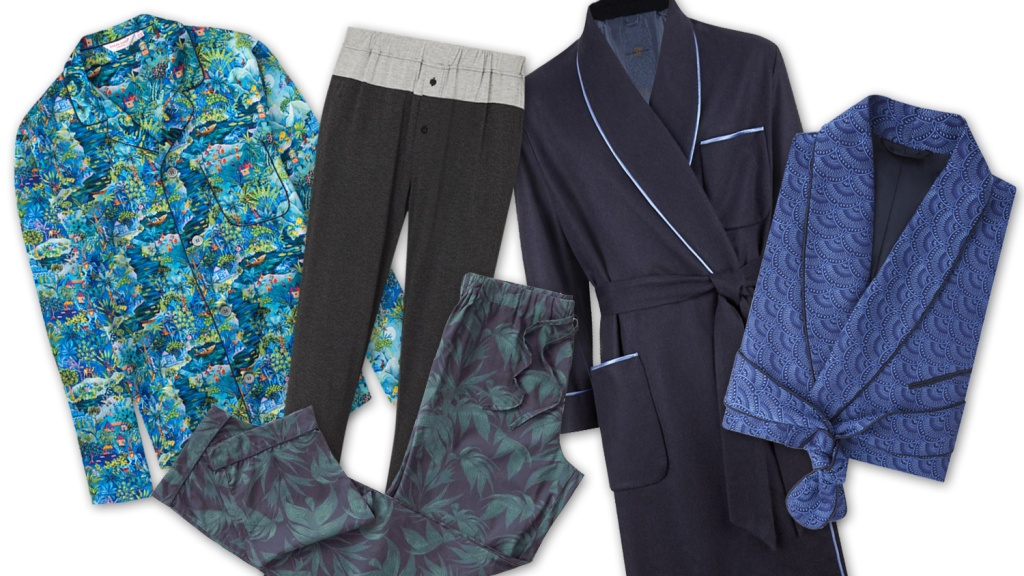 Most Luxurious Men's Pajamas and Bathrobes