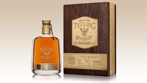 Teeling 34 Year Old Whiskey