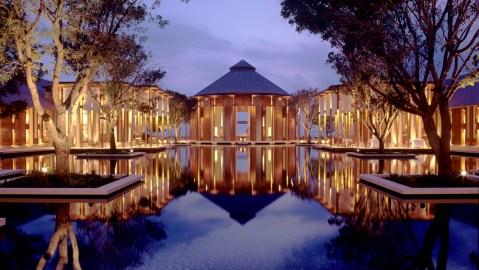 Amanyara reflecting pond