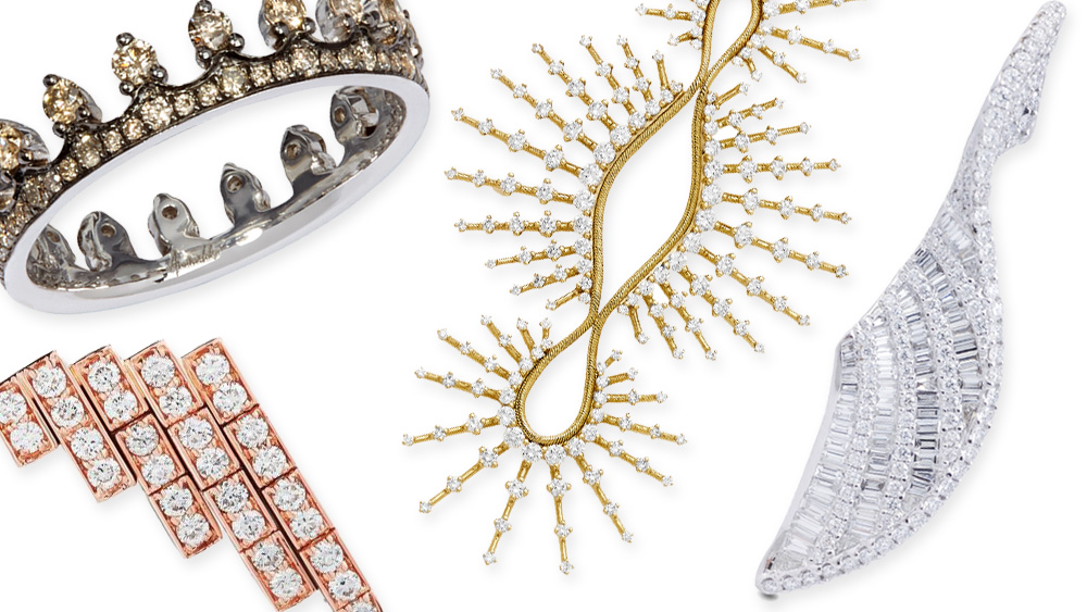 Unusual Diamond Jewelry for Valentine's Day