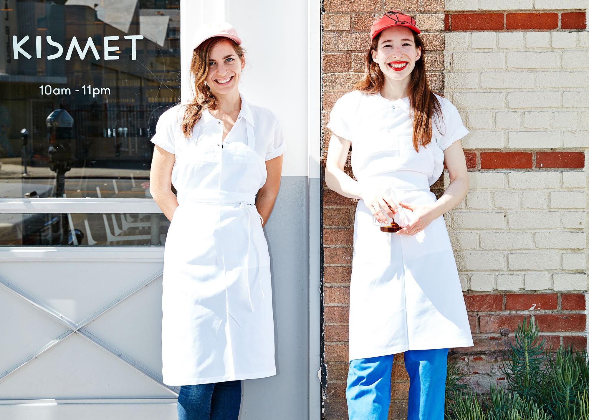 Chefs Sarah Hymanson and Sara Kramer Los Angeles Los Feliz Kismet