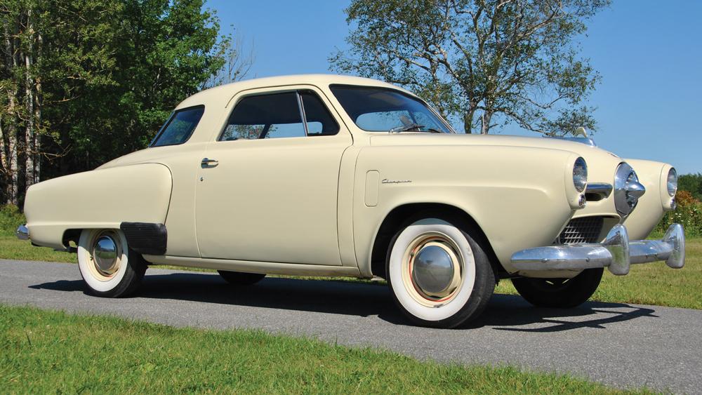 Studebaker bullet-nose car