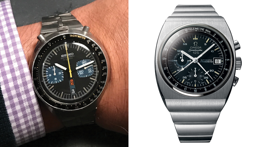 1970s Seiko and Omega watches