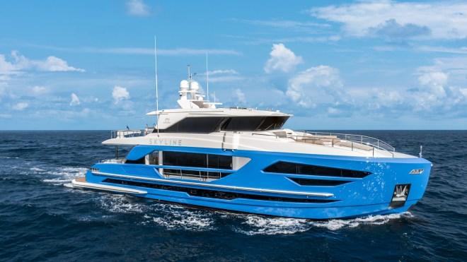 Horizon FD87 Skyline Yacht