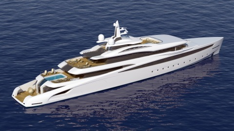 263-foot superyacht Project Affinity.