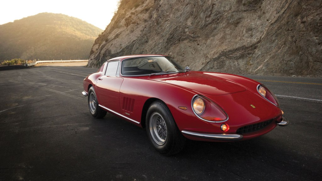The 1966 Ferrari 275 GTB by Scaglietti that's being offered by RM Sotheby's at its 2018 Amelia Island auction.