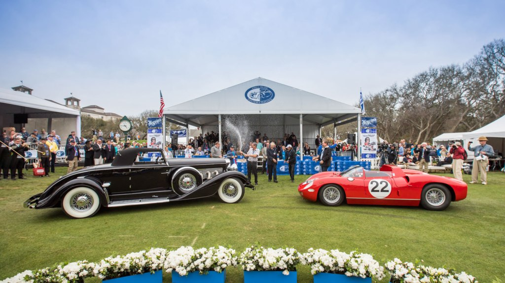 Best in Show winners at the 2018 Amelia Island Concours d'Elegance.