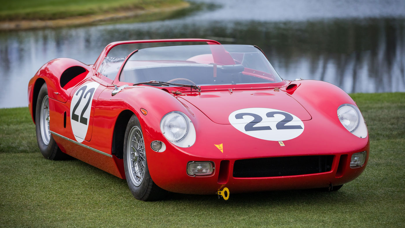 This 1963 Ferrari 250/275P rode off with the Best in Show Concours de Sport Trophy at the 2018 Amelia Island Concours d'Elegance.