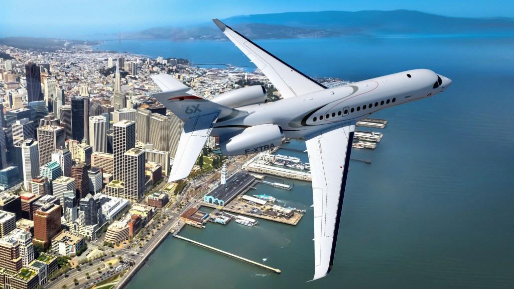 Dassault Falcon 6X Business Jet