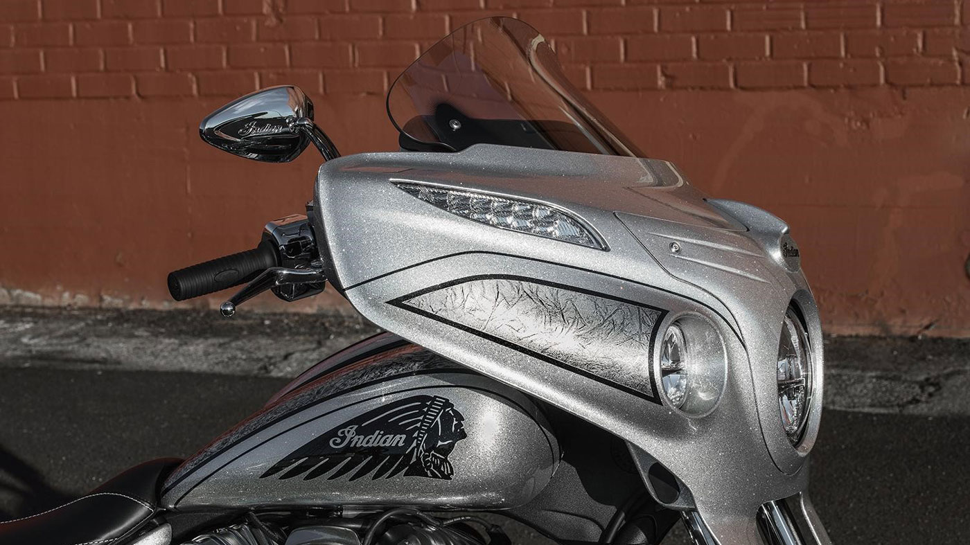 The 2918 Indian Chieftain Elite.
