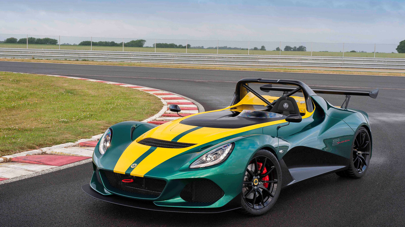 The Limited-Edition Lotus 3-Eleven 430.