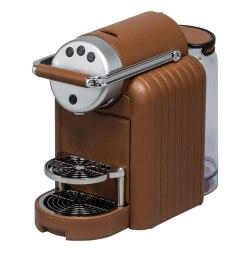Zenius Lines Nespresso machine from Giobagnara