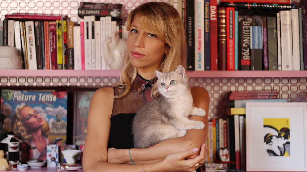 Jewelry designer Bea Bongiasca