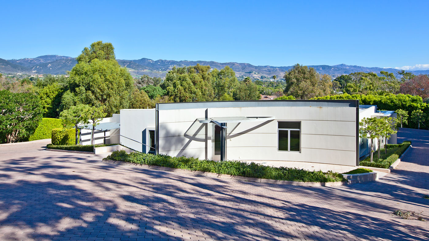 Private museum space for sale in Malibu's Point Dume neighborhood.