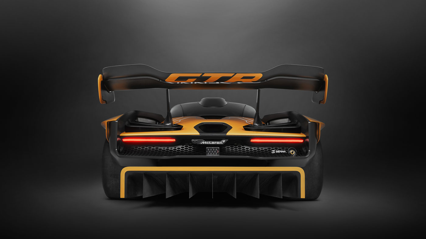 The McLaren Senna GTR.