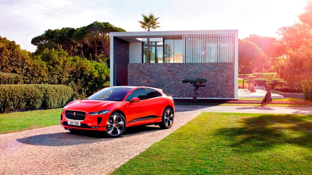 The Jaguar I-Pace.