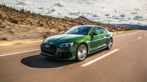 The 440 hp Audi RS5 Coupe.