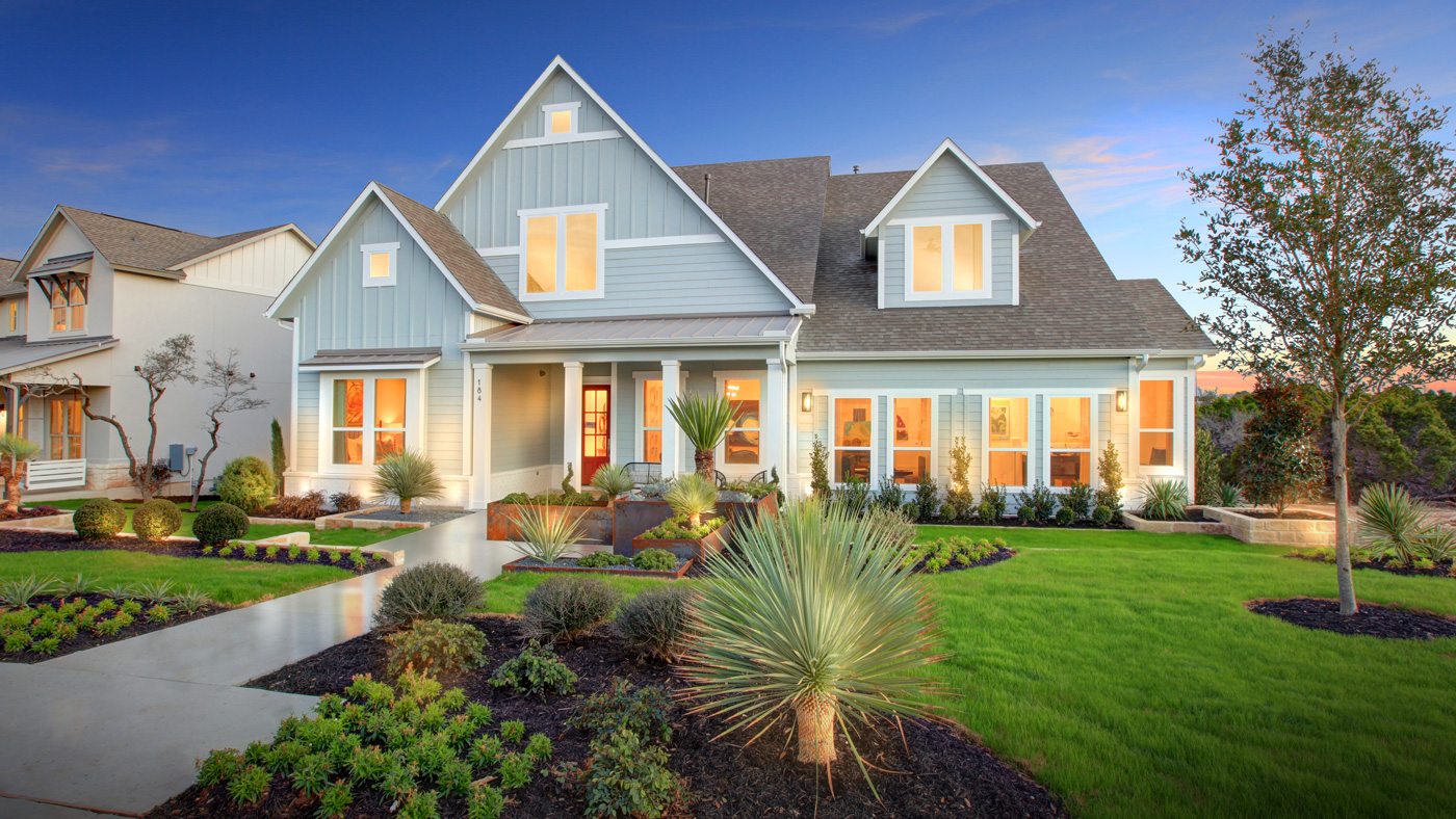 Newly built homes in the Headwaters community start at the mid-300,000s and go to the $900,000s.