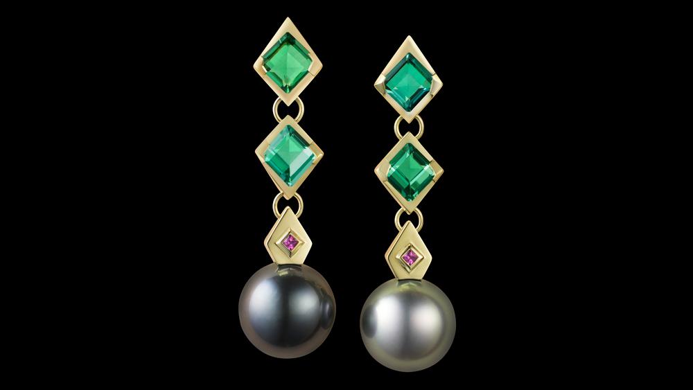 Ben Day earrings