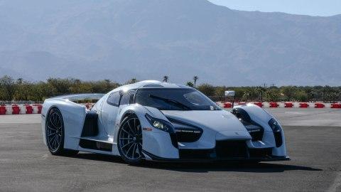 The $2.2 million 003S supercar developed by Scuderia Cameron Glickenhaus.