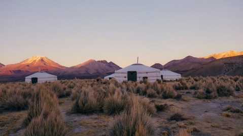 Black Tomato Yurt Camp in Bolivia
