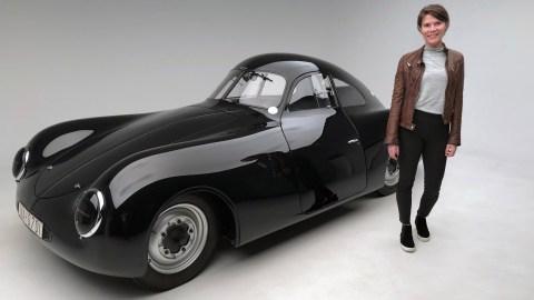 Brittanie Kinch Petersen Automotive Museum Porsche
