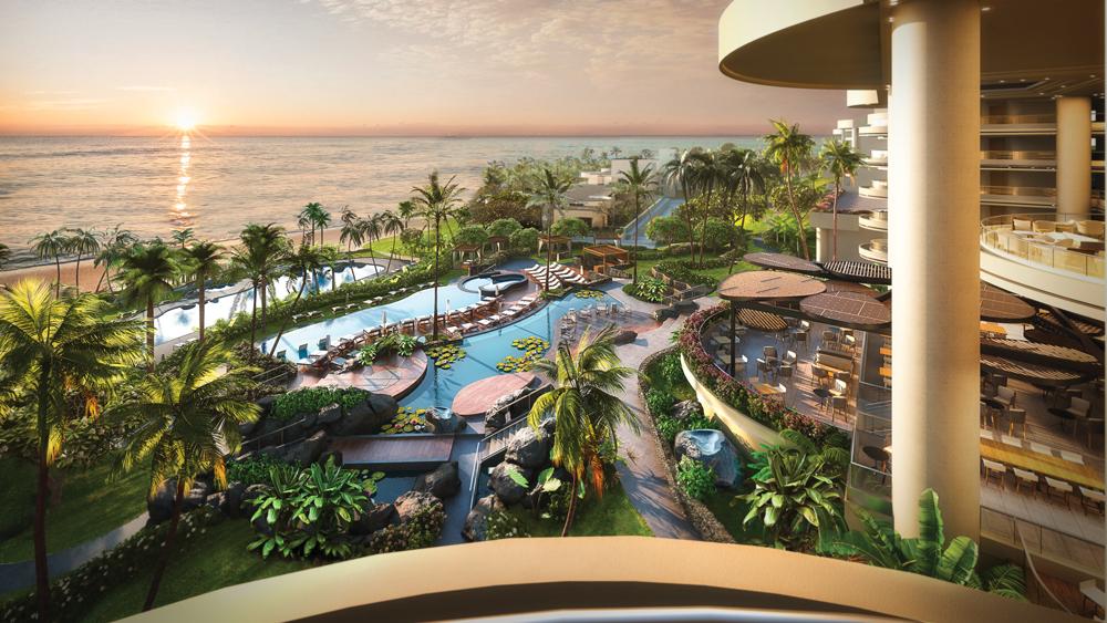 Hapuna Beach Residences balcony