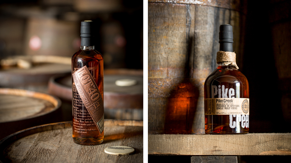 Northern Border Collection whisky